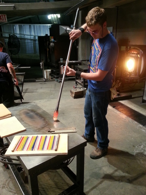 Tanner @ Museum of Glass